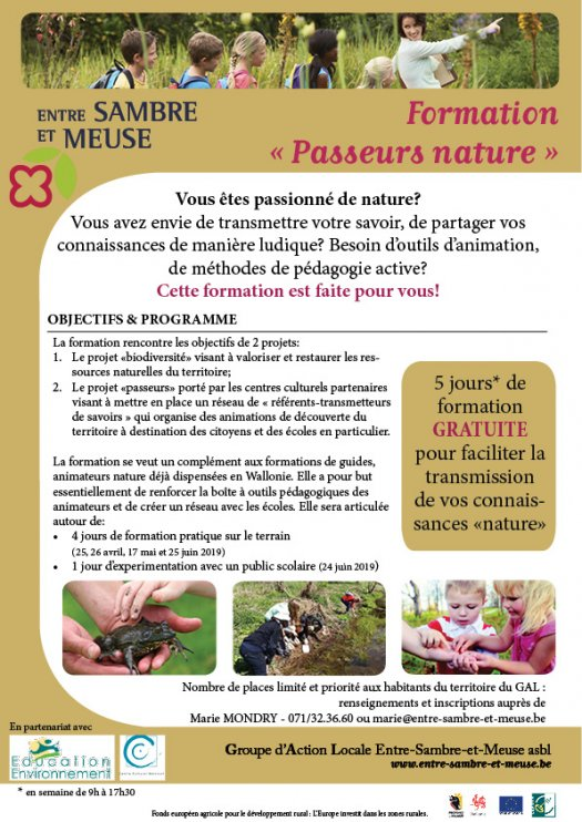 "Formation ""passeurs nature"""